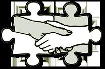 Segítő kéz ikon